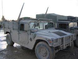 HMMWV w wire cutter, 22 DEC 2003, Mosul Iraq