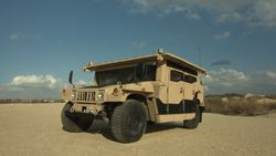 Israel HMMWV with TROPHY LV System