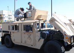 Air Force Security Police HMMWV