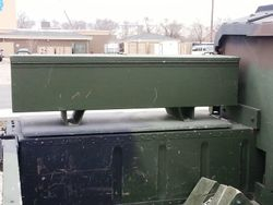 Exterior Storage Box on M1165A1