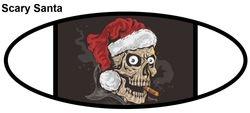 Scary Santa Mask