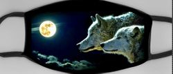 Wolves + Moon Mask