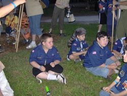 CUB SCOUTS CAMPING OUT
