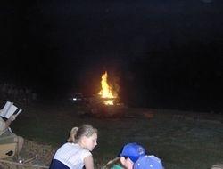 CAMPFIRE AT PARK