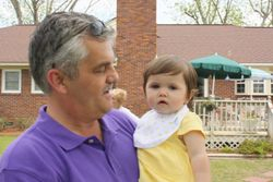 MIKE HUDSON AND GRANDDAUGHTER