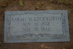 "SARAH MARIE""SALLEY"" HENDRICKS EDGEWORTH"