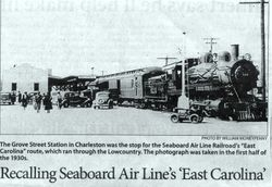 SEABOARD AIR LINE ,EAST CAROLINA