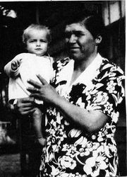 DOUGLAS AND MOTHER , DULAH