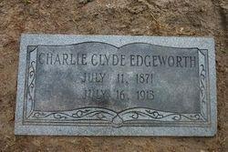 GRAVEMARKER FOR CHARLIE C EDGEWORTH