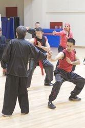 Sifu Chen Yong Fa executando aplicações com Rui Ferreira.