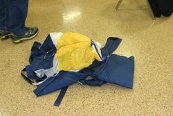 Parachute that has been deployed