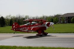 Patrick Carter's S-2B on takeoff roll