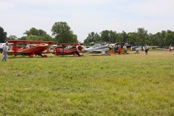 At BVO National Biplane Fly-in