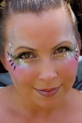 Glamour Glitter Face Painting