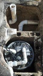 Sewer Grinder Pump Install