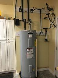 Garage Water heater install