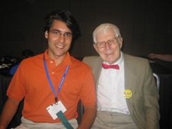 Me with Dr. Aaron Beck