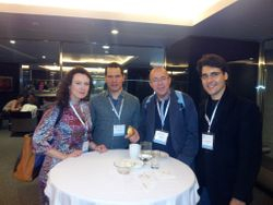 Me with colleagues at 12th International Forum of Mood and Anxiety Disoders, Barcelona, Nov 2012