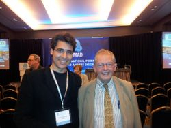 Me with Dr. Stuart Montgomery, Barcelona (Spain, Nov 2012)