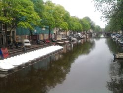 Outra vista - Another view of Amsterdam