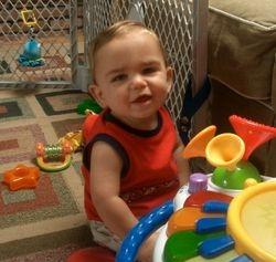Bradon 1 year old