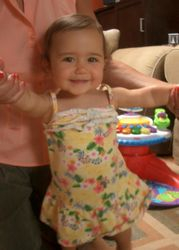 Kayla 1 year old