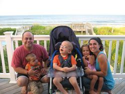 1st Family vacation - Aug 2008 Nags Head