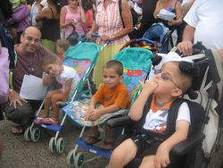Family trip to Sesame Place 2009