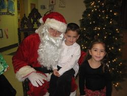 Christmas party at Trinity school