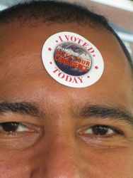 Look Here's my sticker to prove it!