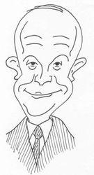Dwight Eisenhower caricature