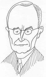 Harry Truman caricature