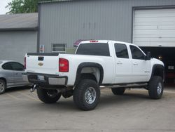 Truck lifted