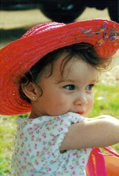 Granddaughter Michaela Georgia Lester