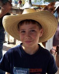Grandson Tyler Roy Lester