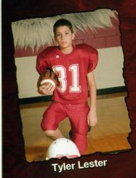 Tyler ,Football player.