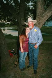 Johnny Seay and daughter Fawn Raven (Seay) Lester