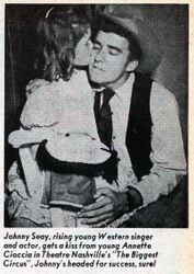 A play I was in, 1961.