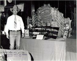 John Seay at a Gun Show in 1980.