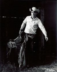 "A young Cowboy named ""Johnny Seay""."