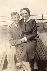 Alfred and Peggy - Scotter 1941