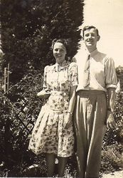 Peggy and Alfred - probably 1941