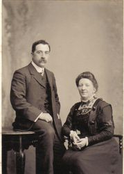 John Washington Baron and Ellen Baron