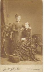 Elizabeth Tracy  (sitting)