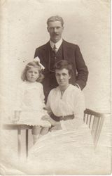 Olive, Frank and Isabell Osbourn