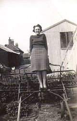 Scotter Whit 1940 Peggy at The Poplars