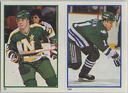1985-86 O-Pee-Chee Stickers #168