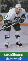 1989-90 Whalers Junior Milk #5