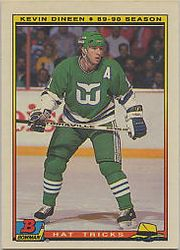1990-91 Bowman Hat Tricks #7