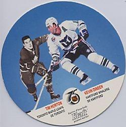 1991-92 Kraft w/ Tim Horton #86
